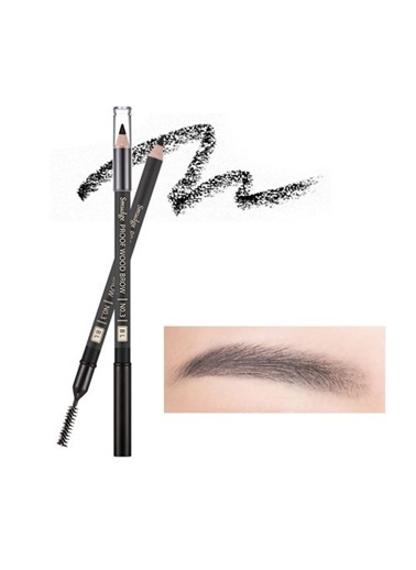 Missha Smudge Proof Wood Brow (Black) Siyah